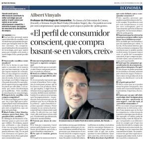 Entrevista Albert Vinyals psicologia consum