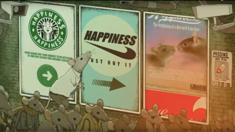 Hapiness Steve Cutts. Rats